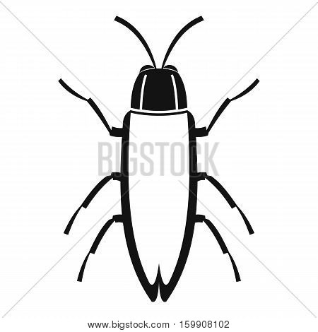 Cockroach icon. Simple illustration of cockroach vector icon for web