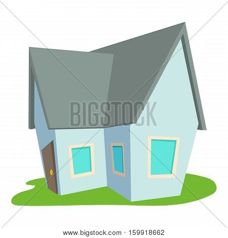 Cottage icon. Cartoon illustration of cottage vector icon for web