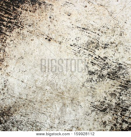 The old  leather drumhead on background texture