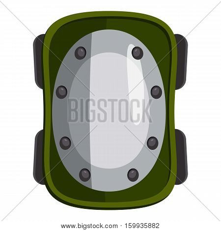 Knee pad icon. Cartoon illustration of knee pad vector icon for web