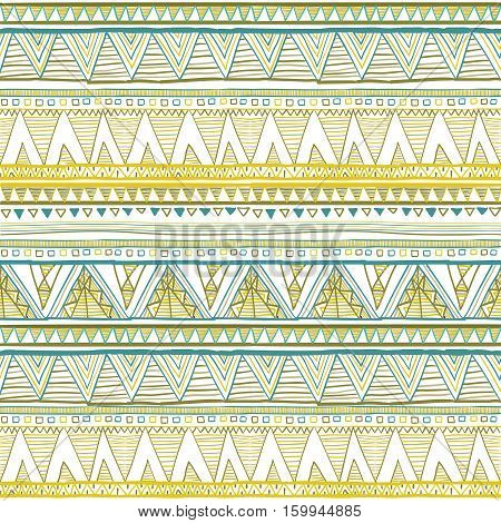 Seamless Patterns With White, Black, Gold, Zigzag Lines And Points, Striped, Gift Boxes And Dots. Et