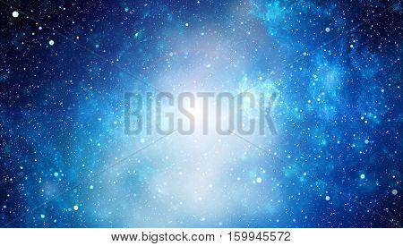 Deep Space. High Definition Star Field Background