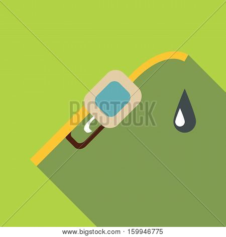 Filling gun icon. Flat illustration of filling gun vector icon for web
