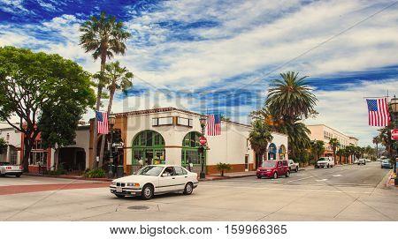 Santa Barbara California - American Cities Photo in june