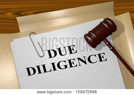 Due Diligence - Legal Concept