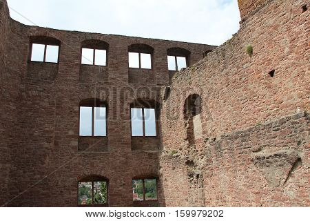 The ruins of the fortress / Wertheim, Baden-Wuerttemberg, Germany, Europa