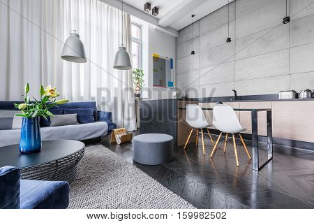 Modern Apartment With Kitchen