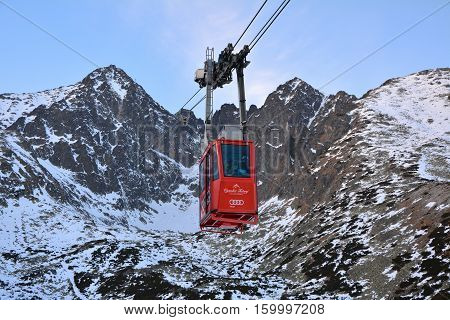 Cable Car In Slovakia