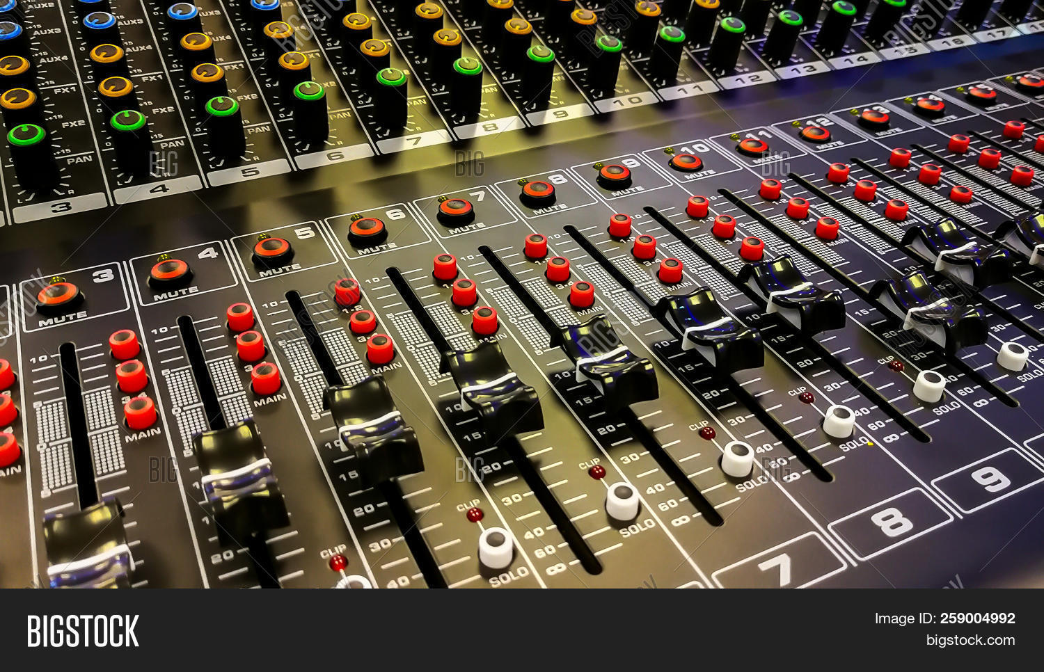 Close Music Mixer Image & Photo (Free Trial) | Bigstock