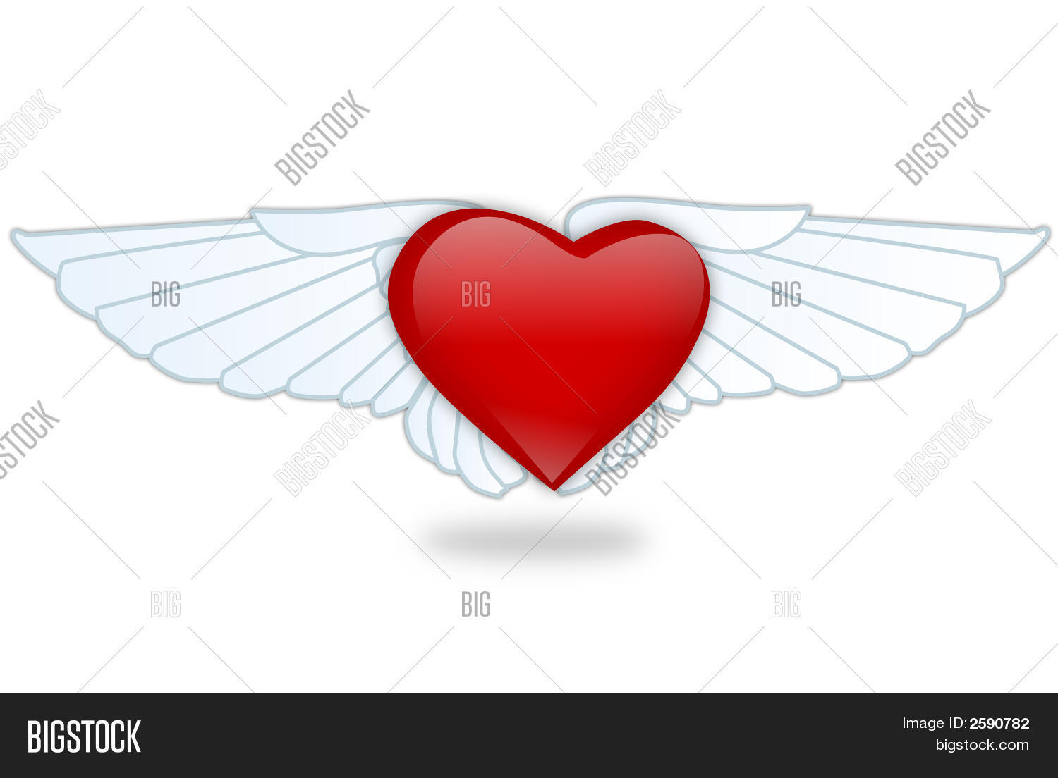 Heartwings Image & Photo (Free Trial) | Bigstock