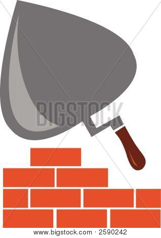 Trowel And Brick
