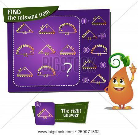 Find The Missing Item Hedgehog