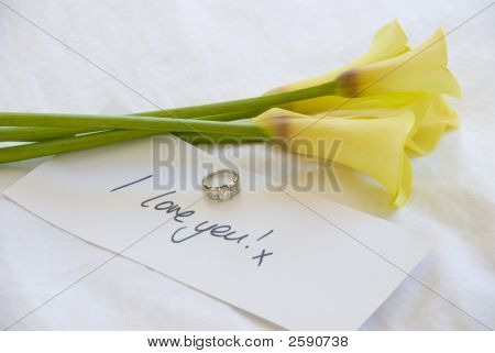 Yellow Lillies To Show Your Love