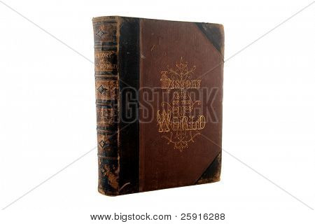 antique book 1873