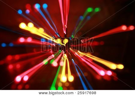 out of focus and moving colored lights for backgrounds and various uses