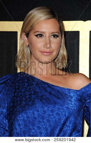 Ashley Tisdale at the HBO's Official 2018 Emmy After Party held at the Pacific Design Center in West Hollywood, USA on September 17, 2018.
