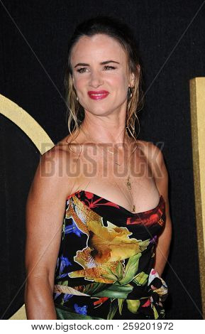 Juliette Lewis at the HBO's Official 2018 Emmy After Party held at the Pacific Design Center in West Hollywood, USA on September 17, 2018.