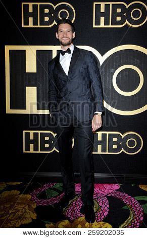 Ben Barnes at the HBO's Official 2018 Emmy After Party held at the Pacific Design Center in West Hollywood, USA on September 17, 2018.