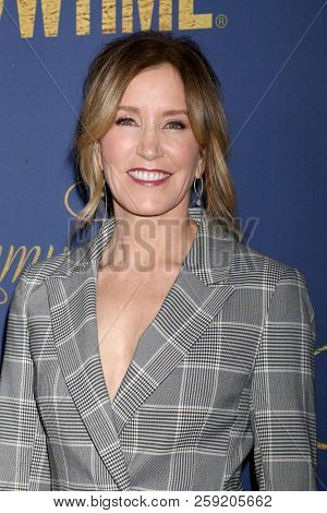 LOS ANGELES - SEP 16:  Felicity Huffman at the Showtime Emmy Eve Nominee Party at the Chateau Marmont on September 16, 2018 in West Hollywood, CA