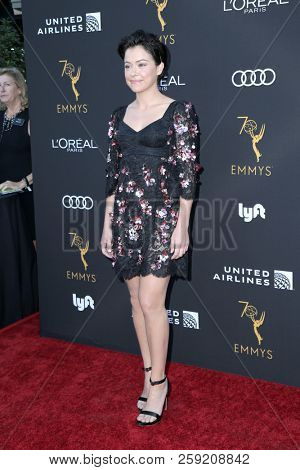 LOS ANGELES - SEP 15:  Tatiana Maslany at the Television Academy Honors Emmy Nominated Performers at the Wallis Annenberg Center for the Performing Arts on September 15, 2018 in Beverly Hills, CA