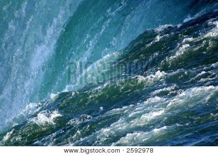 ナイアガラの滝の水