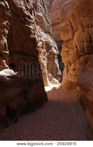 Coloured Canyon on Sinai Peninsula, Egypt