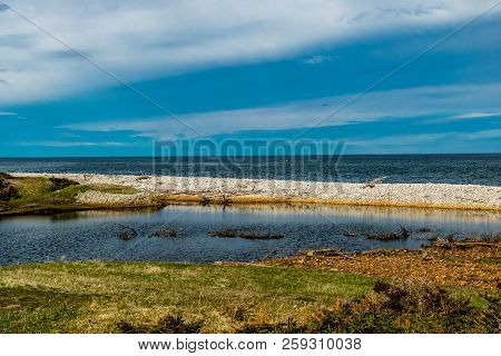 Vessels Brook ponds and the vire of the St Lawrence Seasway, Gros Morne National Park, Newfoundland, Canada poster