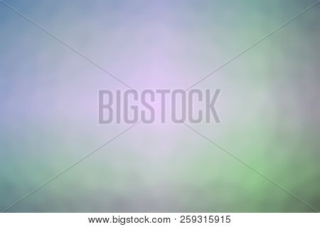 Abstract Illustration Of Blue Green Purple Through Tiny Glass Background, Digitally Generated