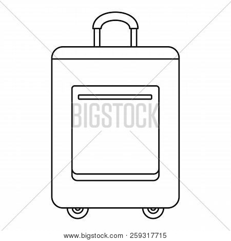 Trip Bag Icon. Outline Illustration Of Trip Bag Icon For Web Design Isolated On White Background