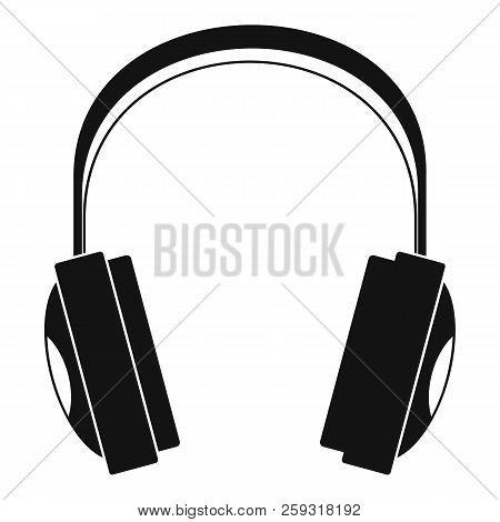 Wireless Headphones Icon. Simple Illustration Of Wireless Headphones Icon For Web Design Isolated On