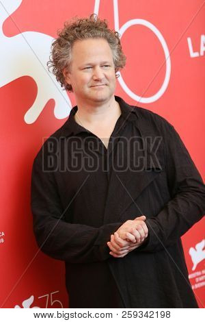 Florian Henckel von Donnersmarck  attend 'Werk Ohne Autor (Never Look Away)' photocall during the 75th Venice Film Festival at Sala Casino on September 4, 2018 in Venice, Italy.