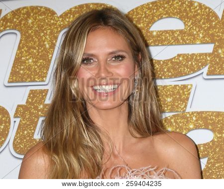 LOS ANGELES - SEP 18:  Heidi Klum at the