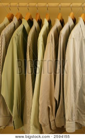 Stripes And Solids Mens Shirts