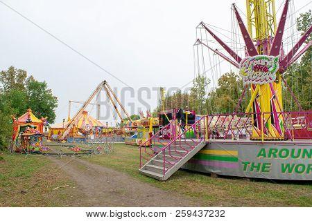 Slavyansk-on-kuban, Russia - September 14, 2018: Day Of The City Of Slavyansk-on-kuban, Circus In Th