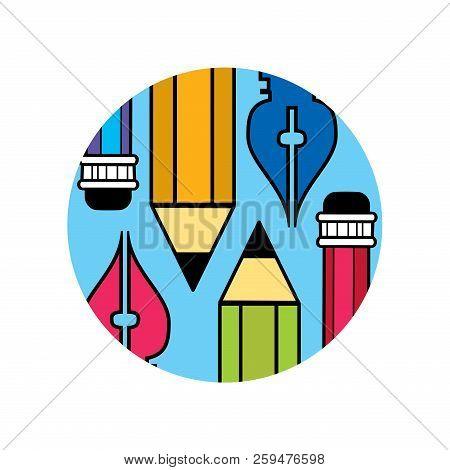 Logo Of The Designer And Artist Brush