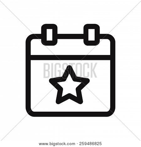 Event Icon Isolated On White Background. Event Icon In Trendy Design Style. Event Vector Icon Modern