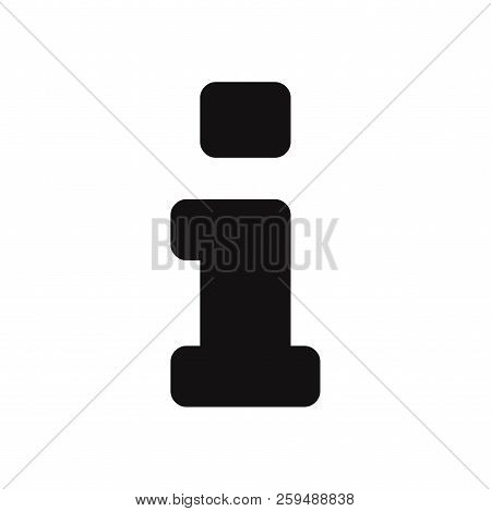Information Icon Isolated On White Background. Information Icon In Trendy Design Style. Information