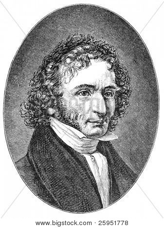 Niccolo Paganini (1782-1840) was an Italian violinist, violist, guitarist, and composer. Illustration from Harper's Monthly Magazine december 1876.