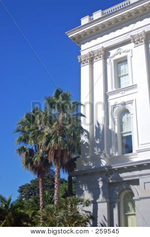 Side Of Califronia Capitol Building