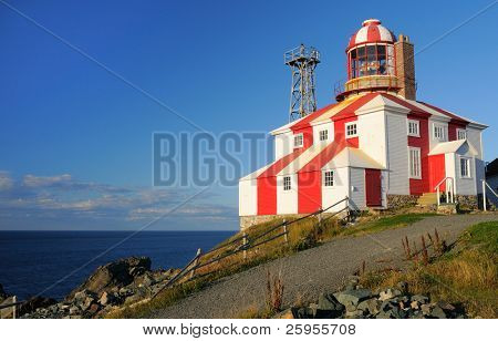 The Historic Cape Bonavista Lighthouse Built In 1842 Now A Provincial Historic Site