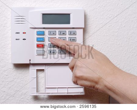 Setting The House Alarm
