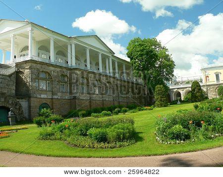 Garden in Katherin's palace, Tsarskoe selo, Russia
