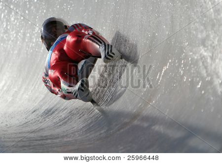 Toboggan in Sigulda, Latvia, World championship