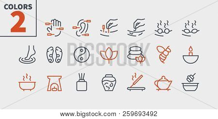 Alternative Medicine Ui Pixel Perfect Well-crafted Vector Thin Line Icons 48x48 Ready For 24x24 Grid