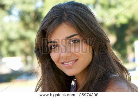 아름 다운 아르헨티나 여자