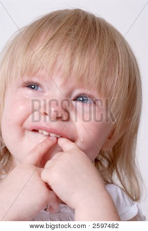Crying Baby With A Toothache