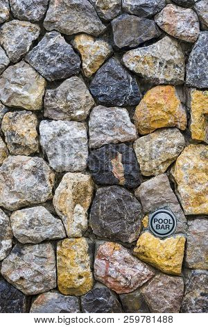 Background texture of stone wall.Background texture of stone wall. Natural stone, a wall of natural