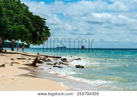 Beaches of Cartagena, Colombian Caribbean