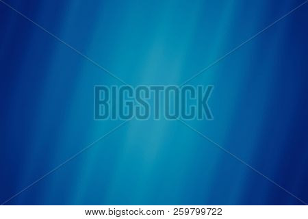 Blue Abstract Glass Texture Background, Design Pattern Template With Copyspace