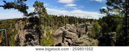 Panorama - Prachovske Skaly (prachov Rocks)